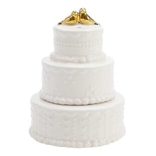 Wedding Cake 2-Piece Salt & Pepper Set