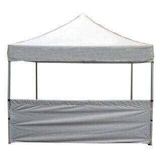 Half Walls 10 Ft. W x 10 Ft. D Canopy by King Canopy
