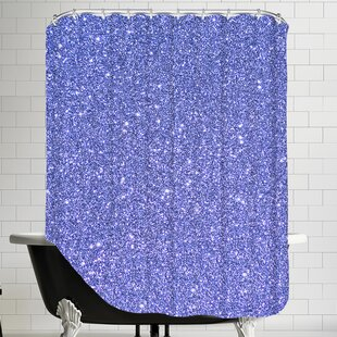 Sparkly Single Shower Curtain