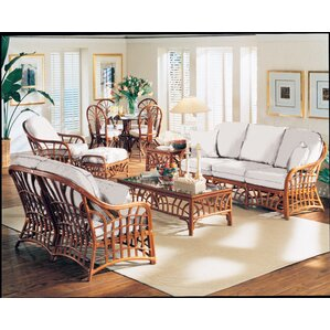 New Kauai Bamboozel Plantain Loveseat by South Sea Rattan