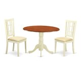 Spruill 3 Piece Dining Set by August Grove®