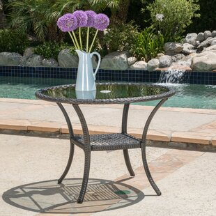 Darby Home Co Darden Wicker Bistro Table