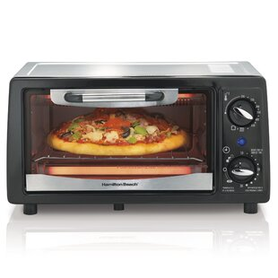 4 Slice Toaster Oven with Bake Pan