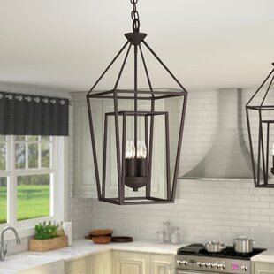 Roodhouse 4-Light Foyer Pendant by Laurel Foundry Modern Farmhouse