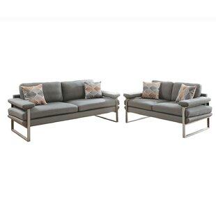 Orren Ellis Kraker 2 Piece Living Room Set