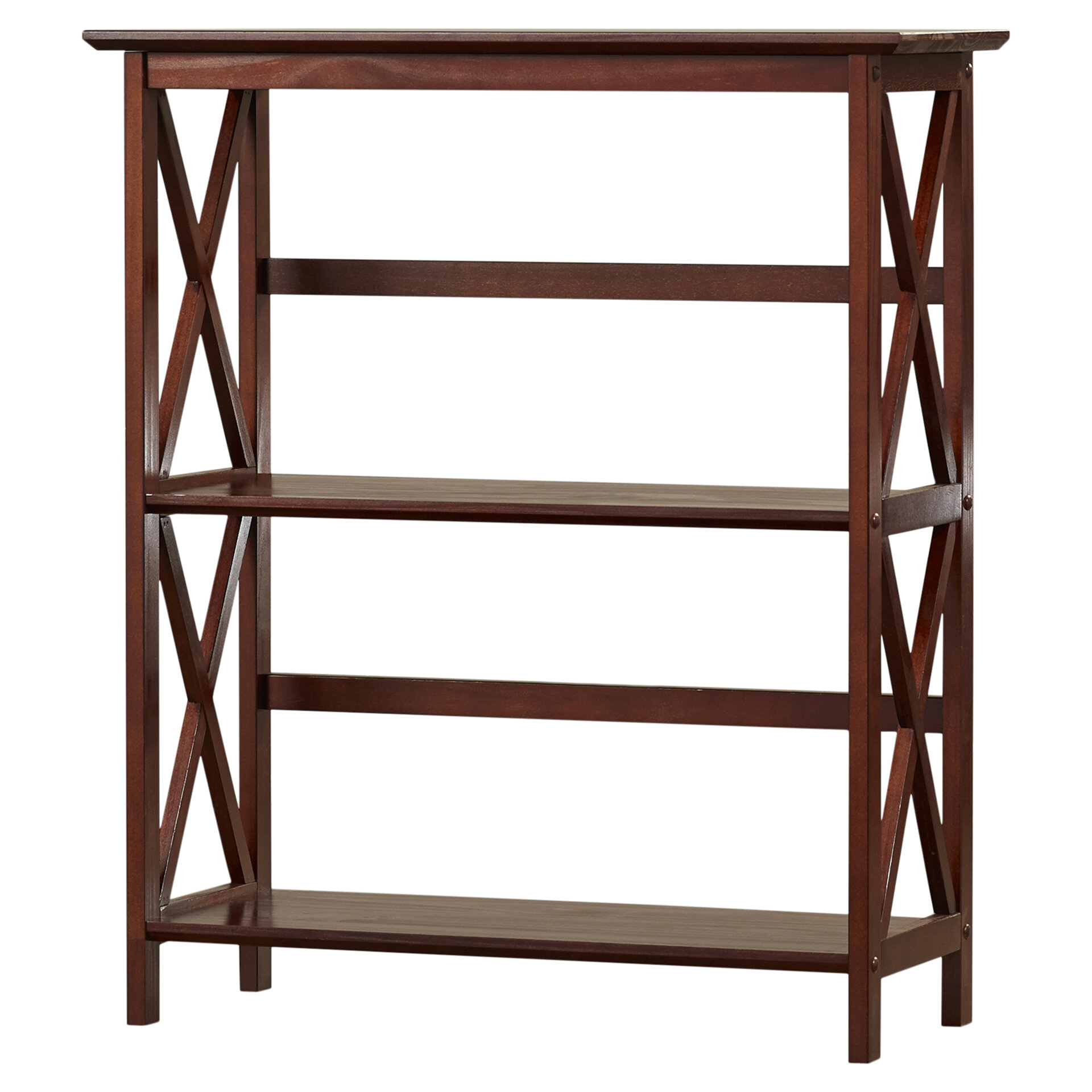Warrington Etagere Bookcase By Charlton Home