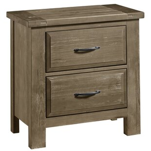 Fairfield 2 Drawer Nightstand by Loon Peak
