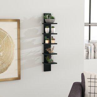 Wyaconda Utility Column Spine Wall Shelf