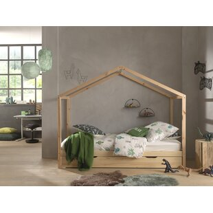 Matos European Single (90 X 200cm) House Bed With Trundle By Zoomie Kids