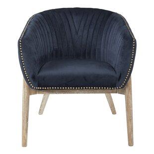 Read Reviews Pederson Barrel Chair by Bungalow Rose