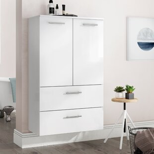 Philomena 70cm X 114cm Wall Mounted Cabinet By Mercury Row