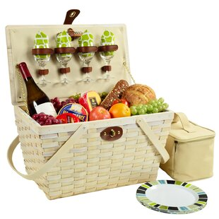 Settler 4 Person Picnic Basket