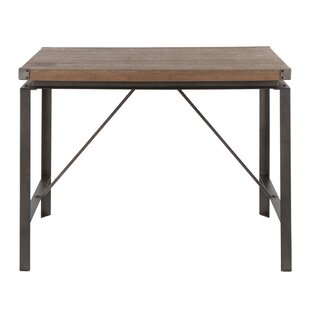 Boles Industrial Counter Height Table by Williston Forge #2