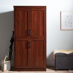 Preciado Rustic Wardrobe Armoire