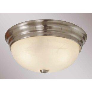 Volume Lighting 2-Light Ceiling Fixture Flush Mount