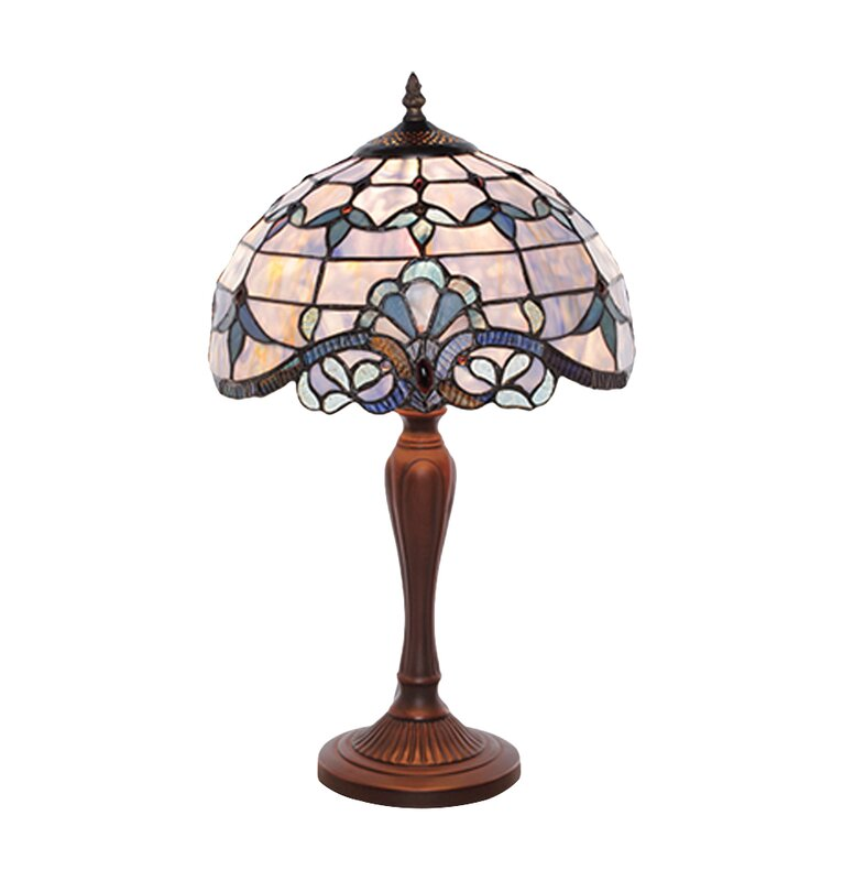 Astoria grand downham tiffany style stained glass 205 table lamp downham tiffany style stained glass 205 table lamp aloadofball Image collections