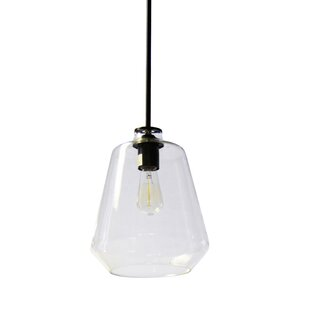Alaia 1-Light Schoolhouse Pendant by Wrought Studio