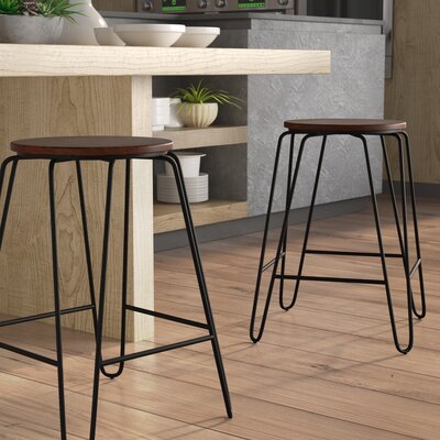 Backless Wood Counter Height Bar Stools You Ll Love In