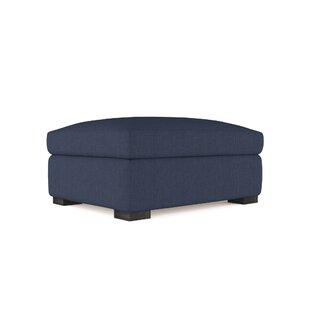 17 Stories Letterly Ottoman