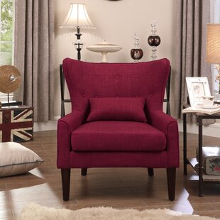Red Accent Chairs You\'ll Love | Wayfair