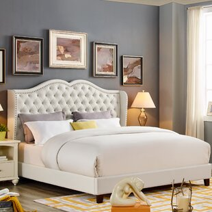 Price comparison Casandra Upholstered Platform Bed by Rosdorf Park Reviews (2019) & Buyer's Guide