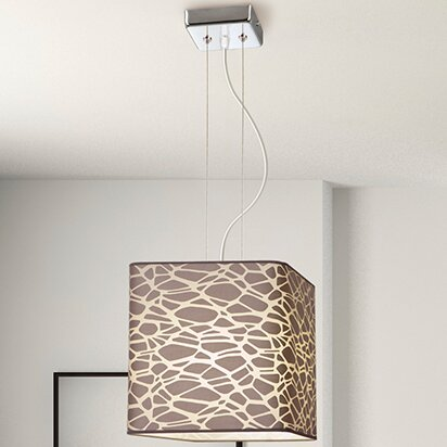 Ankara 1 Light Pendant ElTorrent Shade Finish: DYB