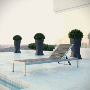 Coline Outdoor Patio Reclining Chaise Lounge