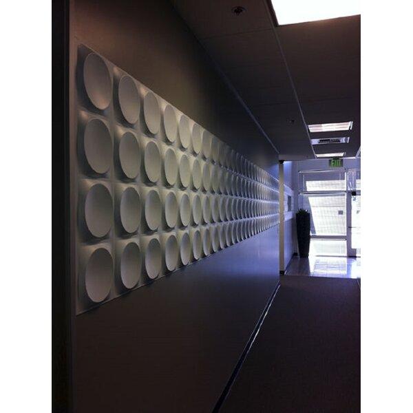 Orren Ellis Dowler 20 X 20 Vinyl Wall Paneling In White Wayfair