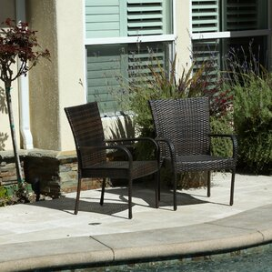 hawes outdoor wicker chair set of 2