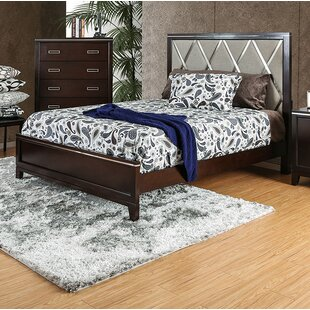Ishani Upholstered Panel Bed