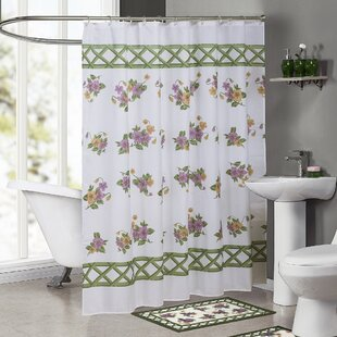 Ringgold Pansy Single Shower Curtain