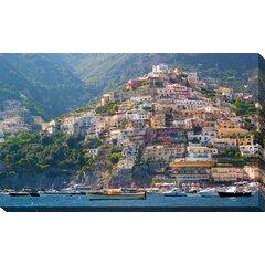 August Wilhelm Amalfi Coast Wall Art  Canvas