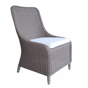Fred Patio Dining Chair with Cushion