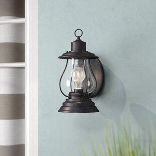 Beachcrest Home Carina 1-Light Outdoor Wall Lantern