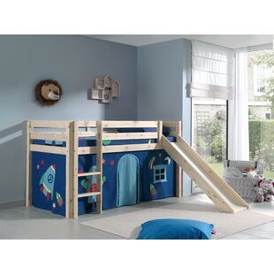 Escalera Mid Sleeper Bed By Zoomie Kids
