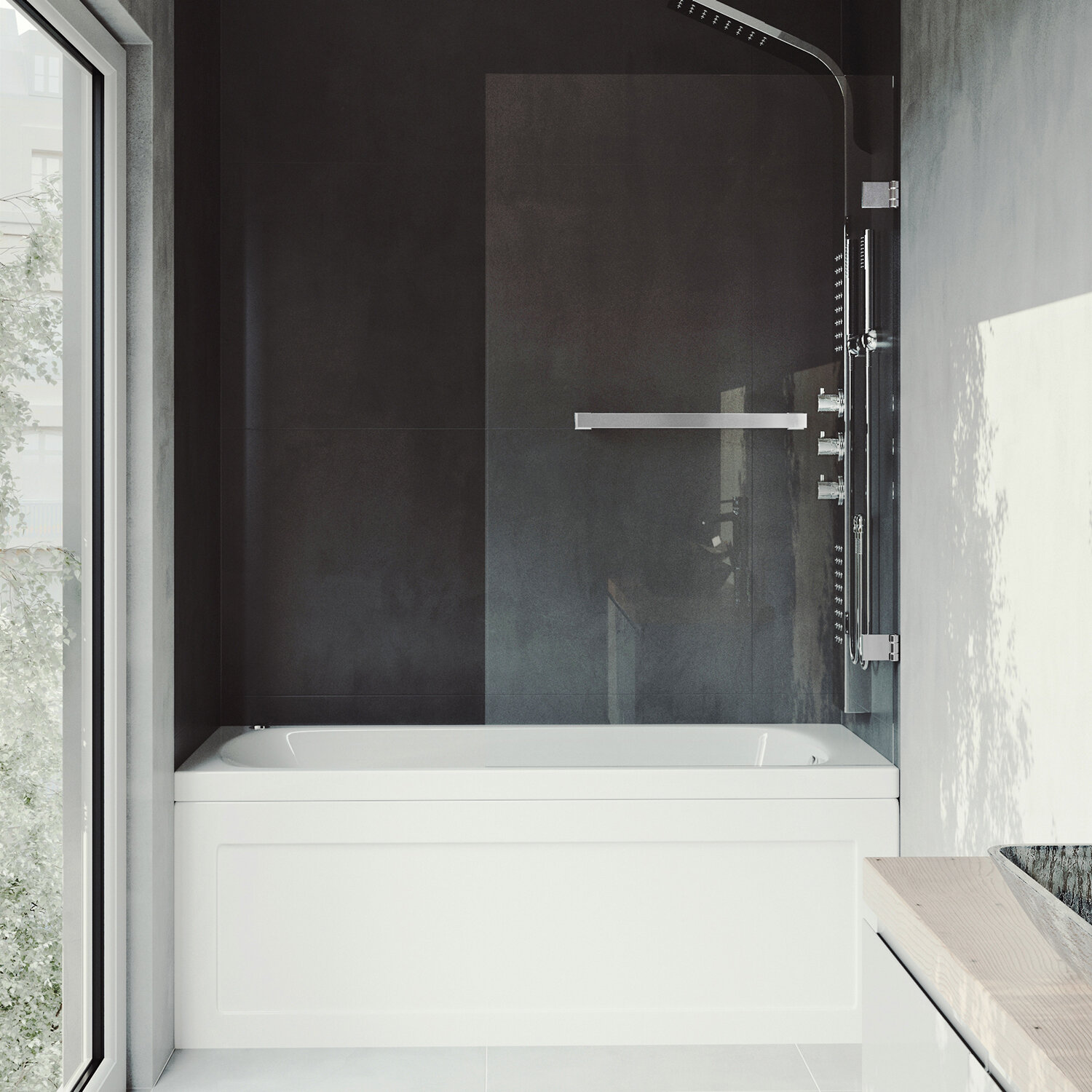 door a trad how style with tub and glass install sliding to care shower doors bathtub traditional installation