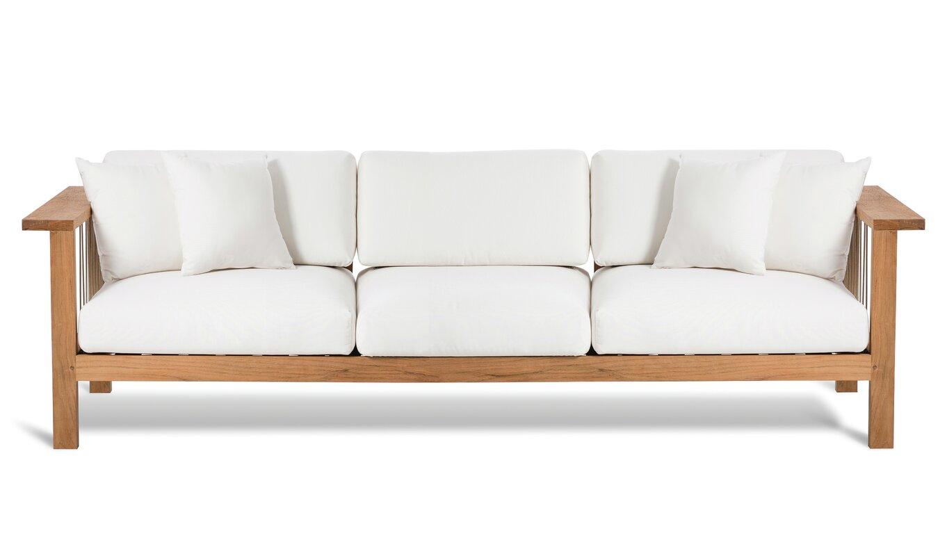maro sofa with cushions | allmodern