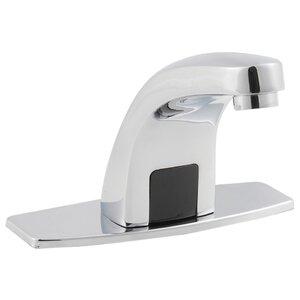 Monobloc Electronic Deck Basin Mixer