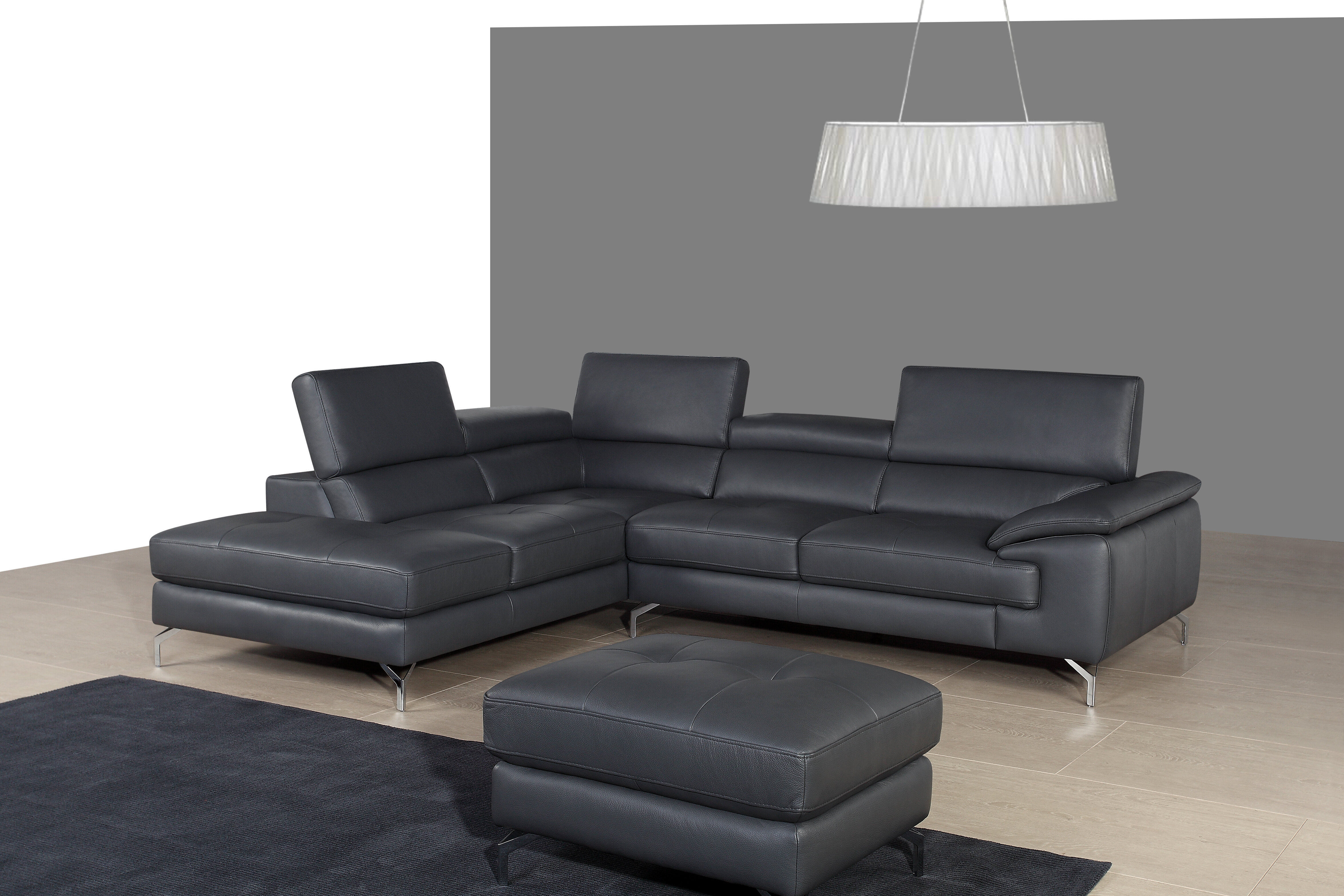 dark reclining sectionals cream ashley customizable leather power series sectional furniture brown colors