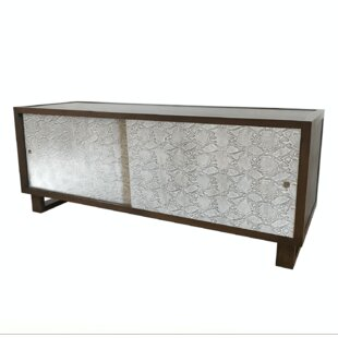 Bob Embossed Leather Snakeskin 60 TV Stand by Bloomsbury Market