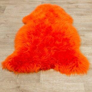 Sorensen Orange Rug by Longweave