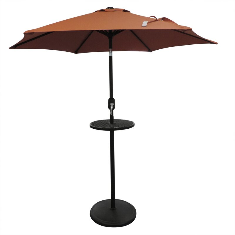 Shipman Adjustable Table Top Steel Free Standing Umbrella Base