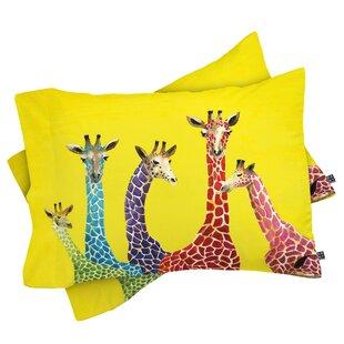 Korey Giraffes Pillowcase