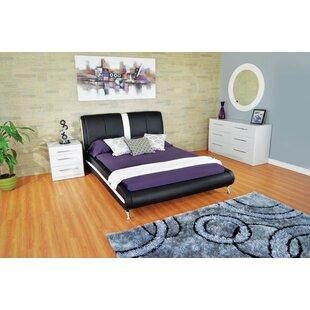 Haskett Arched Leg Queen Upholstered Platform Configurable Bedroom Set by Brayden Studio