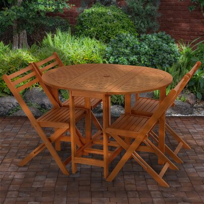 Bridger 5 Piece Dining Set by Union Rustic 2020 Online
