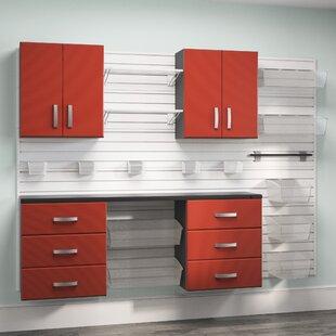 72 H x 96 W Storage Cabinet by Flow Wall