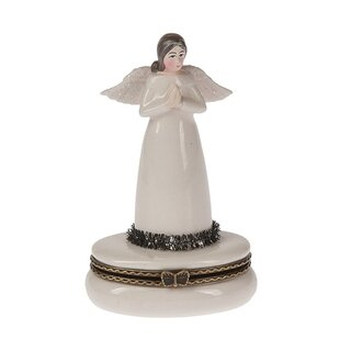 Best Choices Father Frost Angel Hinged Box By Midwest Seasons