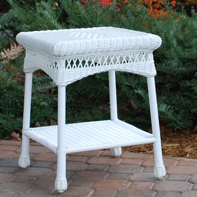 Portside Wicker Side Table by Tortuga Outdoor Comparison