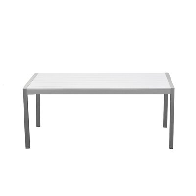 Léa Rectangular 30 Inch Table by Orren Ellis No Copoun