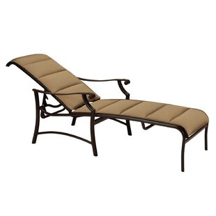 Montreux II Padded Sling Reclining Chaise Lounge